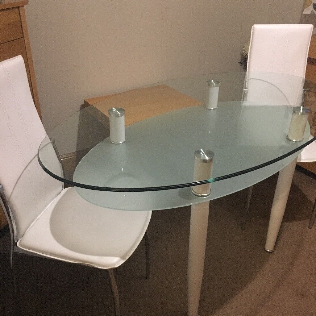 Modern Glass table & chairs