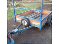 Trailer for sale, single axle, 5 1/2 x 7 foot, electrics good, 3 new tyres heavy duty , very clean