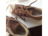 Brown Adidas trainers not worn £30
