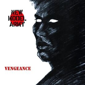 New Model Army - Vengeance - The Independent Story. CD. 2 Disc version. Abstract. RARE. J Sullivan.