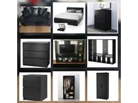 HOUSE CLEARANCE - ALL FURNITURE TO GO - SOFA TV UNIT WARDROBE DRAWERS BED