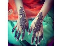 HENNA ARTIST OVER 12 YEARS EXPERIENCE. EID/ DIWALI/ BRIDAL/ PARTY/ CORPORATE. COVERS ALL AREAS