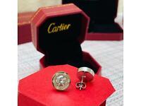 Cartier earrings brand new boxed beautiful