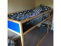 Cabin Bed for Sale with new matress £100.00 O.N.O