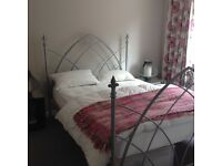 Metal 5ft double bed