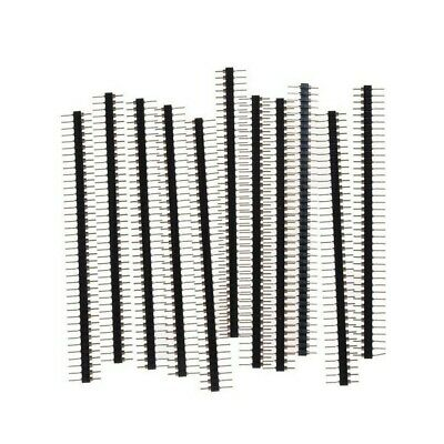 Replacement 40 Pin Header Strip 2.54mm Straight Single Row Durable Female