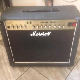 Marshall DSL 401 JCM 2000 guitar amplifier amp 40w all tube valve