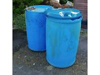 Water butts pair