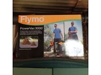 Flymo 3000 garden vac / leaf blower. Vacs and shreds fallen leaves ready for composting