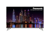 "Panasonic TX-50DX700B 50"" Freeview HD and Freeview Play Smart 4K Ultra HD with HDR TV -Silver"