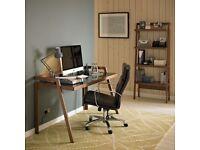 For Sale - John Lewis Gazelle Office Desk, Walnut - Excellent Condition