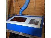 Laser cutting machine 300mm x 200mm area laser machine