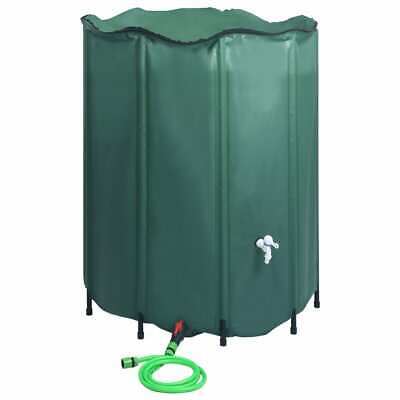 vidaXL Collapsible Rain Water Tank with Spigot 1000L Water Barrel Collector