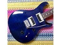 PRS SE Custom 24 2012 Whale Blue Beveled Top Electric Guitar