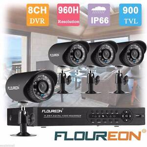 CCTV 8CH 960H 1080N HDMI 1500TVL Home Security Camera Burwood East Whitehorse Area Preview