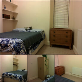 Double room in bright and warm house