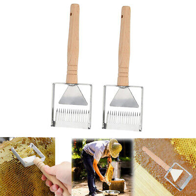 2x Honey Uncapping Tool Honey Uncapping Fork Knife Uncapper Beekeeping Scraper