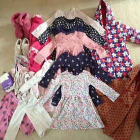 Bundle of Winter Girls Clothes - 3-4 years.