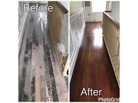 Wooden floor sanding, polishing & restoration