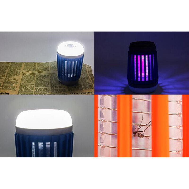 USB Solar Energy Indoor Outdoor Camping Mosquito Killer Led UV Lamp Zapper