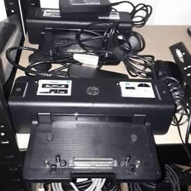 HP laptop docking station port extender