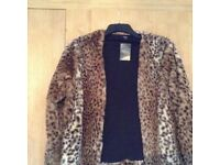 BNWT Ladies Faux Fur Coat from Next