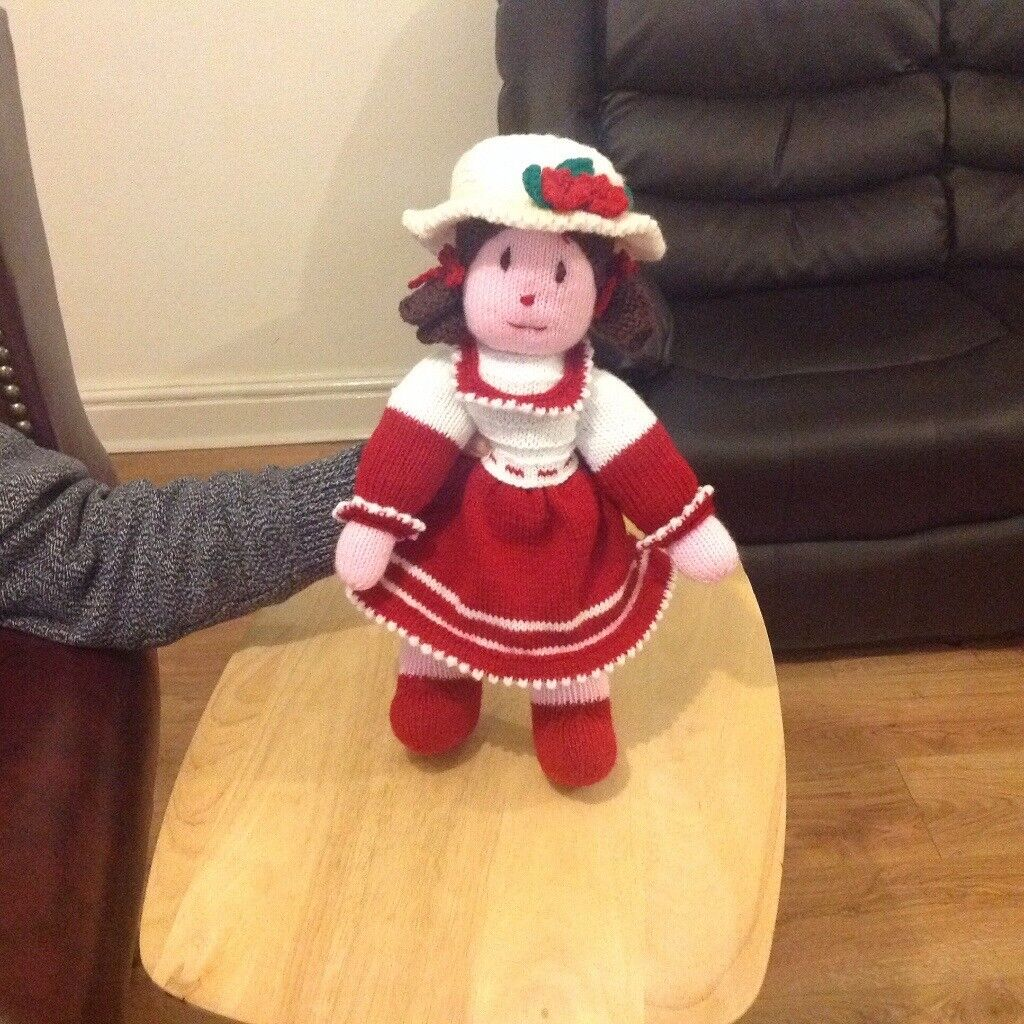 Hand knitted dolls and Clowns