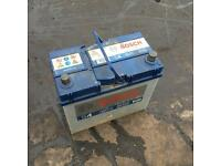 NISSAN MICRA BOSCH BATTERY - WILL FIT OTHERS. JAPANESE CARS