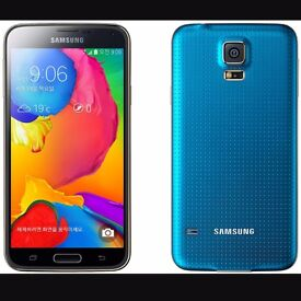 Samsung galaxy s5 *1 year old* comes with portable charger.