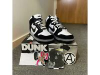 Nike Dunk High x Slam Jam White Black - Limited Edition Sleeve and Stickers