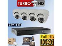 Quality HD 1080p CCTV equipment plus installation