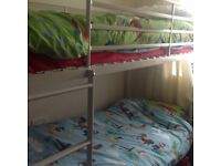 Immaculate Bunkbeds bottom bunk only used twice w 95 h 158 L 195 perfect condition still up to view