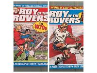 Set of 2 Collectible Roy of Rovers Books: 1970s and World Cup - Annual Comic Style