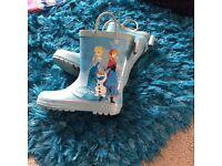 Girls Disney frozen Wellington boots