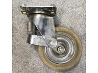 Set of 4 heavy duty castor wheels