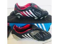 Adidas Predator Powerswerve 2008 RARE UK 8.5 SG (Soft Ground) Football Soccer Footy Cleats Boots