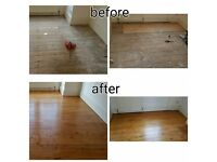 Wood floor sanding and finishing from NN Flooring Service