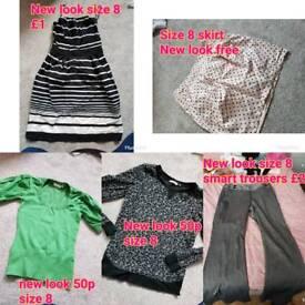 size 8 women's clothes