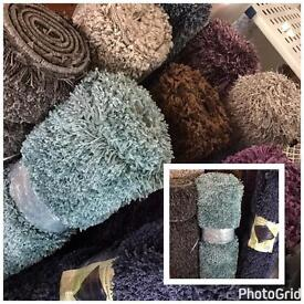 Brand New Shaggy Rugs - stock Clearance
