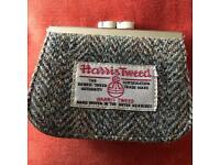 New Harris Tweed coin purse