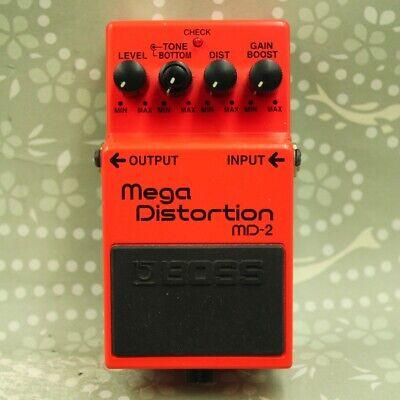 BOSS MD-2 Mega Distortion Guitar effect pedal (IW79237)