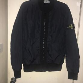 Men's Stone Island Jacket Garment Dyed Creps NY