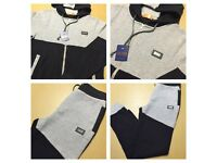 Brand New With Tags Men's Boss Badge Tracksuits Grey £35