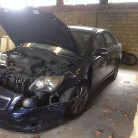 breaking for spares 2x avensis d4d 08 _09 plates most parts available