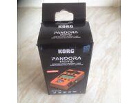 Korg Pandora FX Stomp Pedal