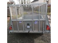 IFOR WILLIAMS GD85 TRAILER AS NEW.