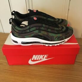 NIKE AIR MAX 97 UK COUNTRY CAMO PACK QS PREMIUM SIZE UK 9 / BRAND NEW IN BOX