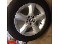 """BMW X5 e53 e70 X6 e71 e72 Alloy wheels 18"""" Winter tyres"""