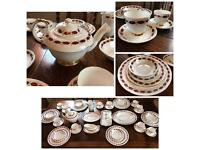 Beautiful Paragon Vintage Bone China 54 Piece Tea Service - Elegance, NBU
