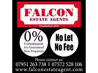 0% Commission for Guaranteed Rent Properties